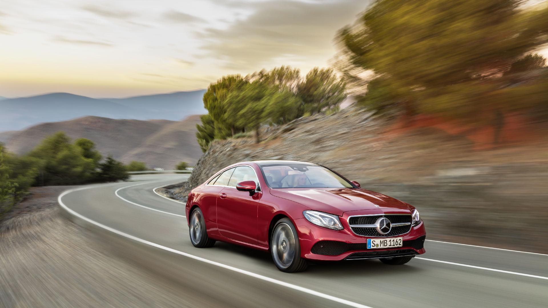 MERCEDES-BENZ E 200 Coupe 4-Matic 9G-TRONIC